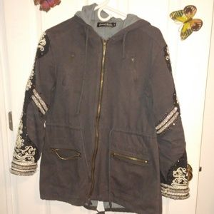 Free people golden quill jacket
